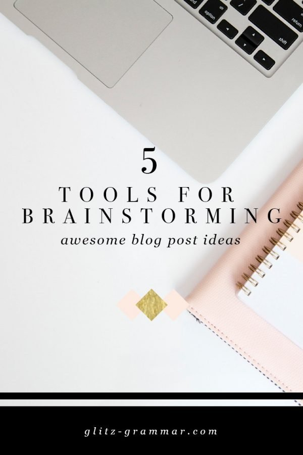 brainstorm blog post ideas