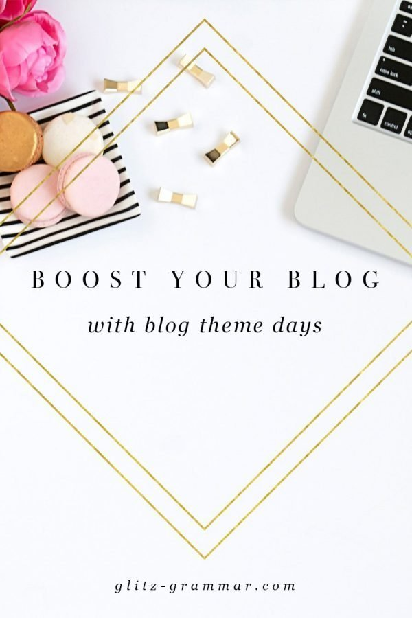 blog theme days