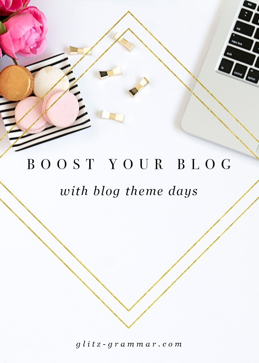 blog theme days
