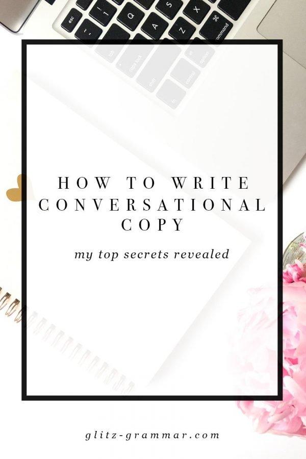 writing conversational copy