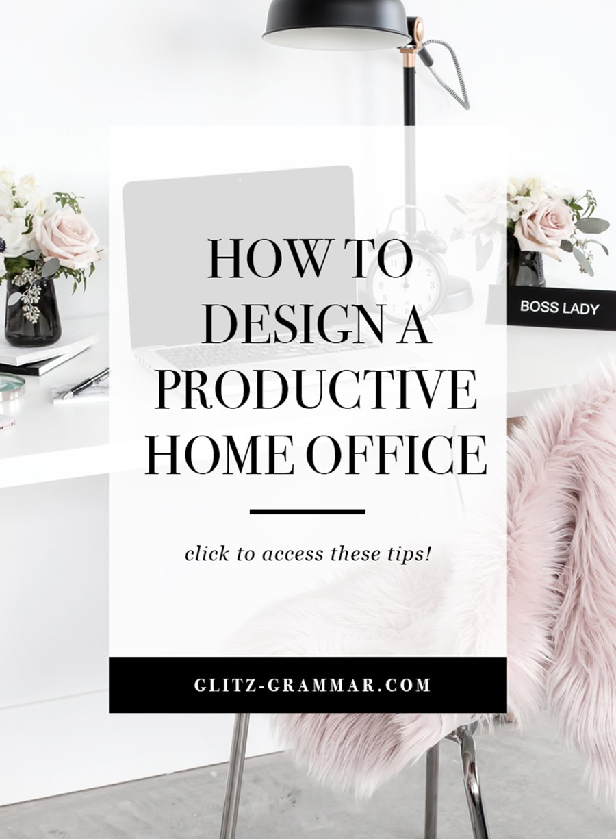 how to design a productive office space when you're working from home