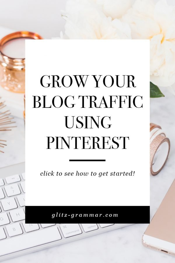 grow your blog traffic using pinterest