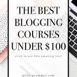 best blogging courses under $100