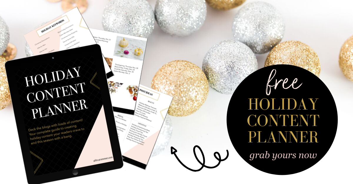 holiday content planner free download