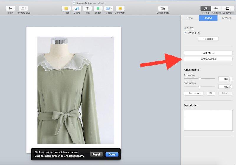 keynote gift guide tutorial