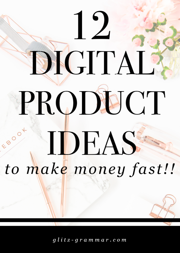 12 digital product ideas